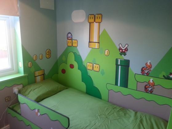 Mario bedroom. Super Mario for kids bedroom    Netmums Chat