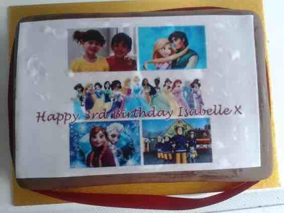 Enjoyable Asda Photo Birthday Cake Netmums Personalised Birthday Cards Vishlily Jamesorg