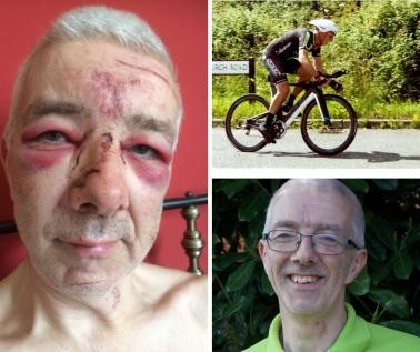 Ian Jackson - Owner of 4 Cleaner Carpets - Cycling Abuse 2017.jpg