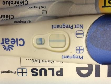 Very Very Faint Line On Clear Blue Test Am I Pregnant Netmums