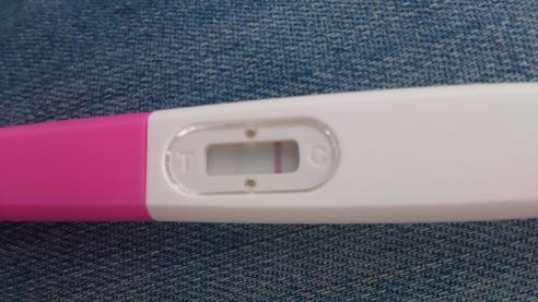 Pregnancy test faint second line? | Netmums