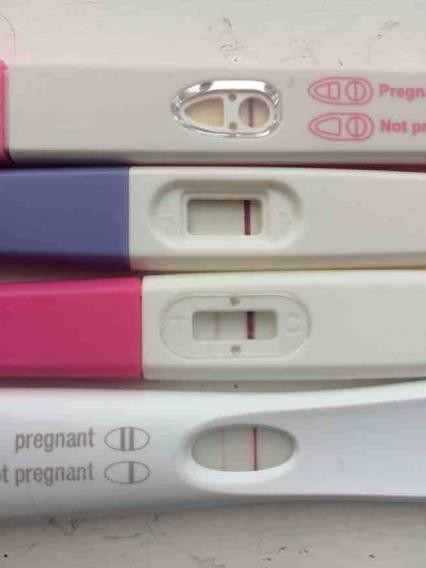 Pregnancy test positive week after period - Maple suyrup diet