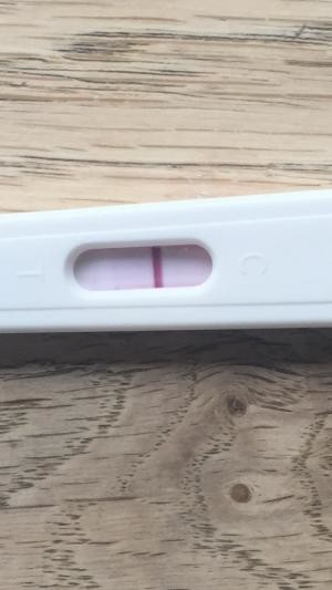 What I thought was faint BFP then it disappeared?! Pic