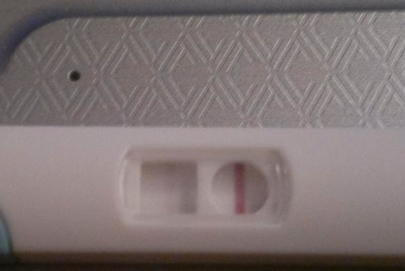 Symptoms that gave me a BFP at 8dpo (albeit a faint one