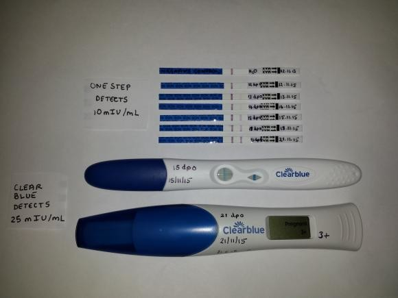 Pictures Of My Positive Hpt Tests From 12 21 Dpo Netmums Chat