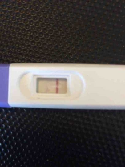 Dye Run Or Positive Pregnancy Test - Pregnancy Symptoms