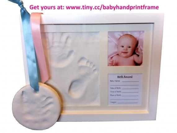 Baby handprint frame kit - Netmums Chat